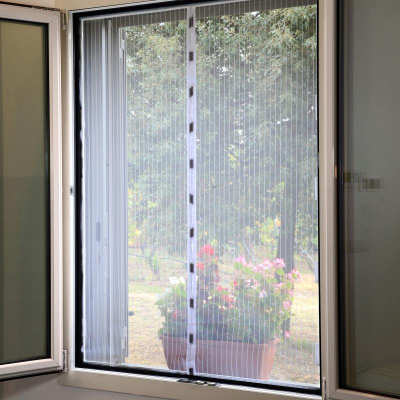 Moustiquaire BAZAR magnétique pour fenêtre