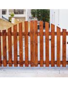 Le portail battant bois