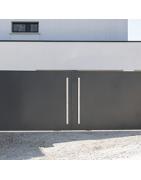 Le portail battant aluminium et PVC