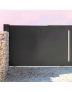 Accessoires portail coulissant acier