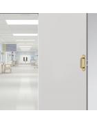 Accessoires de porte en laiton antimicrobien