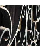 Accessoires de ferronnerie pour portail acier